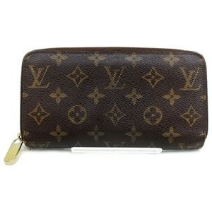 💯 Authentic Louis Vuitton Zippy Wallet Monogram
